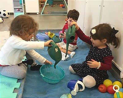 Oficina + Brincar Livre no Cadê Bebê para pequenos de 6 meses a 2 anos!
