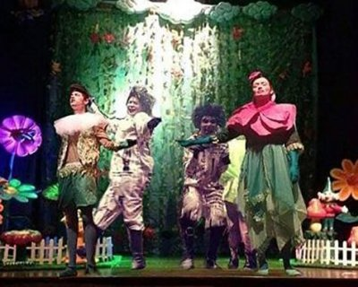 Teatro infantil: O Cravo e a Rosa - Confusão no Jardim