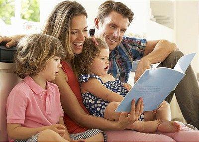Clube de leitura para Crianças: conhecimento de um jeito muito divertido! (Entrega Nacional)