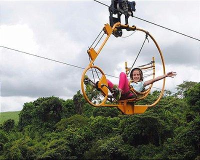 Superbike: pedalando a 70 metros de altura com uma vista incrível! (SÃO PAULO - BROTAS)