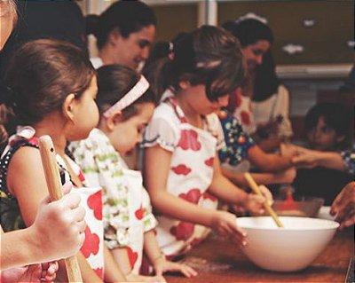 Aula de Culinária Infantil (RIO DE JANEIRO)