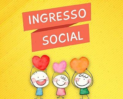 Ingresso Social - Levando lazer e diversão a centenas de crianças!