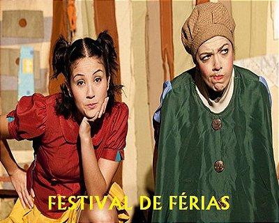 TEATRO INFANTIL:  JOÃO E MARIA - FESTIVAL DE FÉRIAS (Terças feiras de Janeiro em São Paulo)