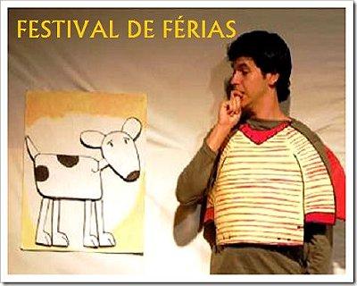 TEATRO INFANTIL: RABISCO UM CACHORRO PERFEITO - FESTIVAL DE FÉRIAS (Sextas Feiras de Janeiro em São Paulo)