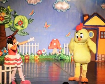 Teatro infantil: Dudinha, Mariana e a Galinha Pintadinha: Uma Aventura na Fazenda (Centro de SP)