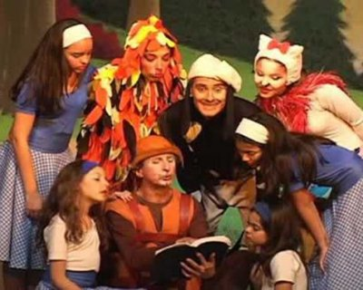 Teatro infantil: Os Saltimbancos (Centro de SP)