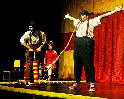 Teatro infantil: Tarde de Palhaçadas  (SÃO PAULO)