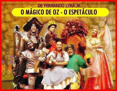 Teatro infantil: O Mágico de Oz - O Espetáculo (Centro de SP)