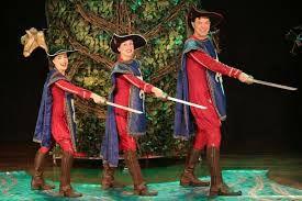Teatro infantil: Os 3 Mosqueteiros (Zona Oeste)