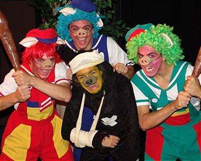Teatro infantil: Os Três Porquinhos - O Musical (SÃO PAULO)