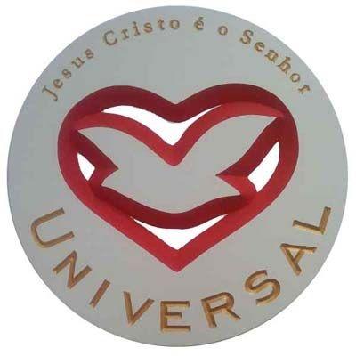 Símbolo Igreja Universal Entalhado em MDF