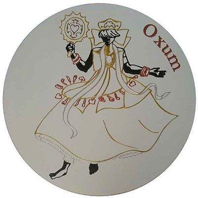 Imagem de Oxum Entalhada em Quadro de MDF