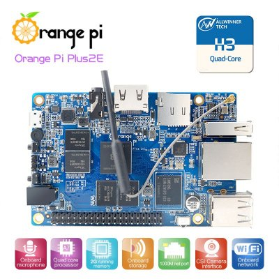Orange pi Plus 2E Quadcore 1.6Ghz 4K