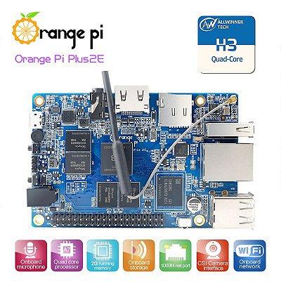 Orange pi Plus 2E Quadcore 1.6Ghz 4K