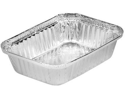 Bandeja de aluminio 120 - 500 ml D6 pacote com 10 unidades - Boreda