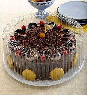 Embalagem torta grande Alta  2,5Kg caixa com 10 Unidades - G 60 MA - Galvanotek