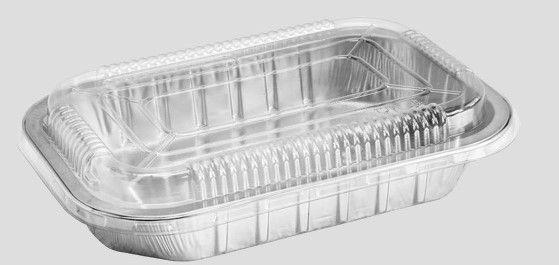Bandeja SW783 caixa com 25 unidades - com tampa PET  - 783 ml - Microondas / Forno / Freezer - Wyda