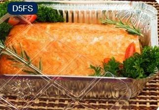 Bandeja D05 FS - 1.150 ml - Microondas / Forno / Freezer - com tampa PET - caixa com 50 unidades - Wyda
