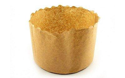 Forma de papel para panetone pacote com 100 unidades - 500 gramas - Petropel