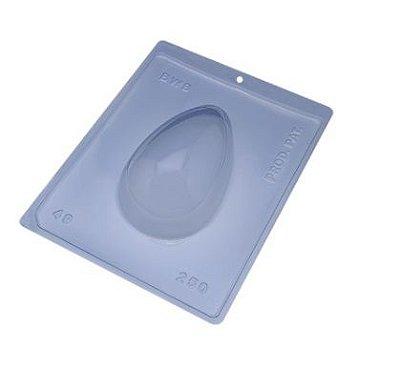 Forma especial com silicone ovo de páscoa unidade 250g - Ref 49 - BWB