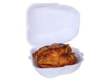 Bandeja de isopor para frango pacote com 100 unidades - H05 - ULTRATHERM