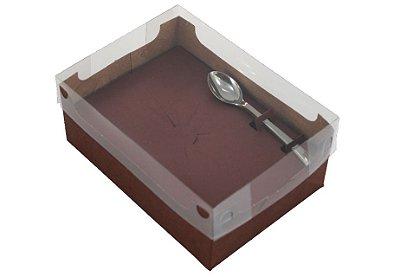 Caixa encanto eco pacote com 10 - 350g - cor vinho – Ideia
