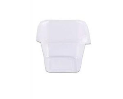 Pote com lacre quadrado caixa com 24 pacotes c/ 10 unidades - Ref 8821 - 250ml - Prafesta