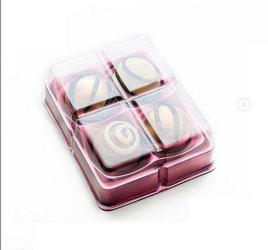 Candy box - 4 cavidades - pacote com 10 unidades