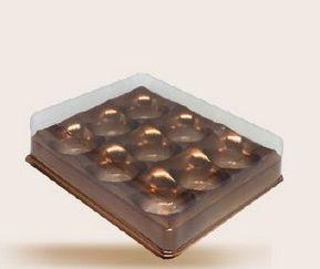 Candy box - 9 cavidades - pacote com 10 unidades
