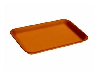 Bandeja B2 Rasa laranja pacote com 100 unidades - Ultra