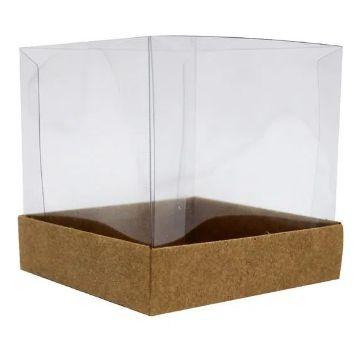 Caixa para mini bolo kraft pacote com 10 - Assk
