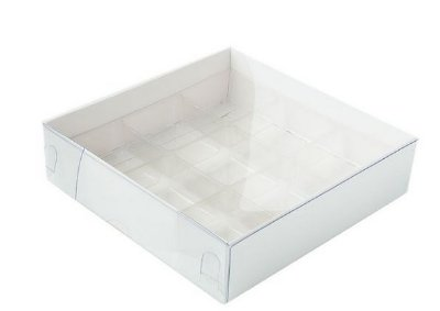 Caixa pvc com berço N.6 branca pacote com 10 - 115X115X3 - Assk