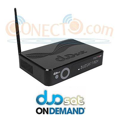 DUOSAT TROY S HD - IPTV - WIFI