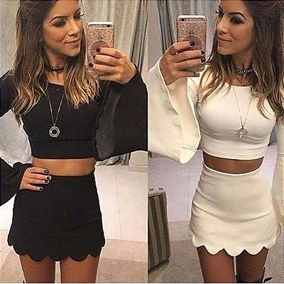 Shorts Saia Pedrita