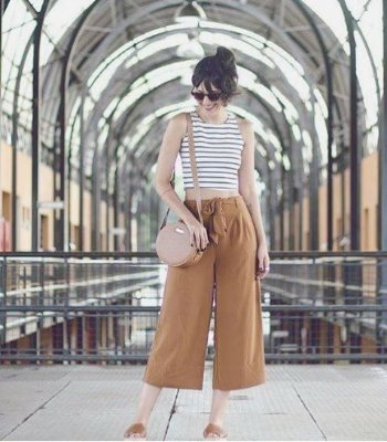 Calça Pantacurt Moda pantalona curta