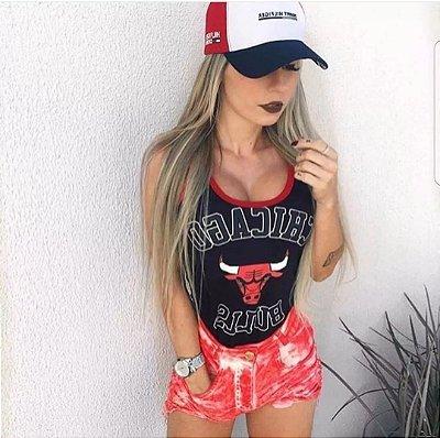 Body Feminino Chicago Bulls