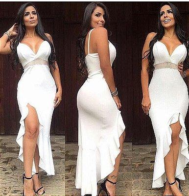 Vestido Celebridade Branco