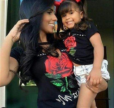 T-shirt Mãe + filha