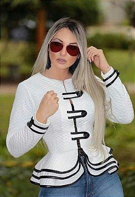 Casaquinho CHIC, PEPLUM