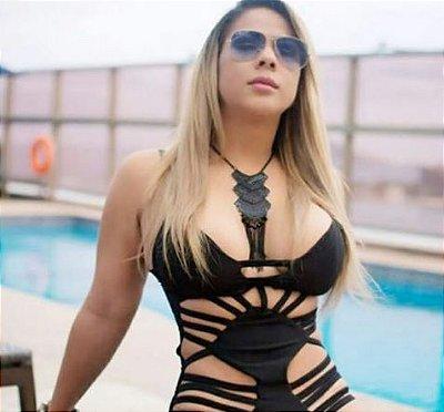 Body Feminino com bojo, modelo Dois Mil e dezenove