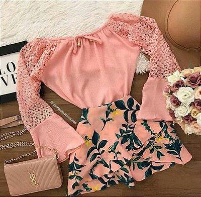 Shorts Saia Moda Verão 2019