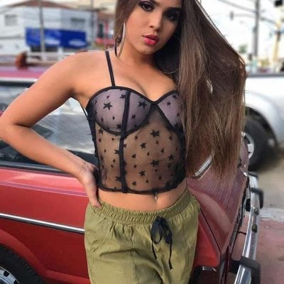 Top Cropped Rendadinho Anitta
