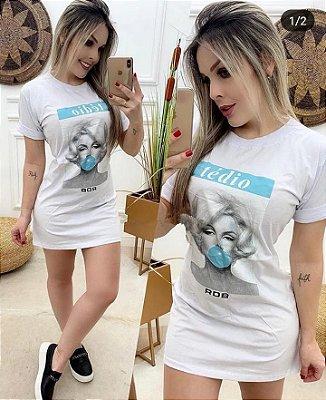 Mini Veste / Camisetão Marilyn Monroe Vendas no Atacado e Varejo