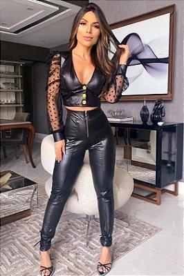 Conjunto Feminino top Mais calça, vendas  No Atacado e Varejo