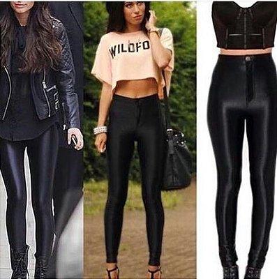 Calça Disco Pants botão/zíper Super tendência. CIRRE ORIGINAL DE QUALIDADE Cores da moda, tamanhos P, M ou G.