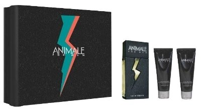 Kit Animale For Men Edt 100ml + Pós barba 100ml + Gel de banho 100ml