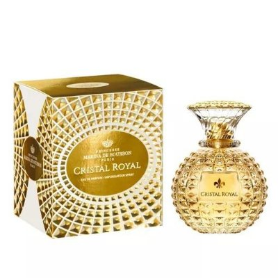 Téster Cristal Royal Marina de Bourbon Eau de Parfum - Perfume Feminino 100 ML