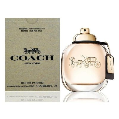 Tester Coach New York Woman Eau de Parfum Coach - Perfume Feminino 90 ML