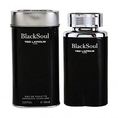 Black Soul Ted Lapidus Perfume Masculino - Eau de Toilette 100 ml