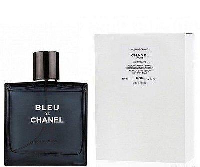 Tester Bleu de Chanel Perfume  Masculino Eau de Toilette 100 ML